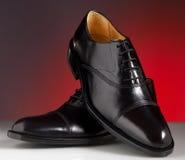 Chaussures de luxe 03 d'homme Images libres de droits