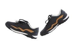 Chaussures de marche Photographie stock libre de droits