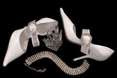 chaussures de mariée Photo stock