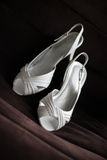 Chaussures de mariage Photo stock