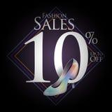 Chaussures de mode à vendre et des offres Photo libre de droits
