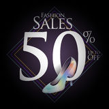 Chaussures de mode à vendre et des offres Photos libres de droits