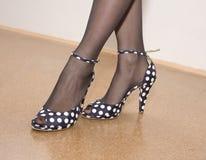 Chaussures de mode Images libres de droits