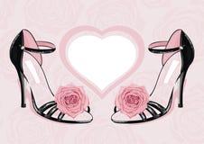 Chaussures de mode illustration de vecteur