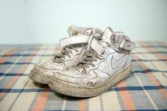 Chaussures de Nike Air Force One images libres de droits