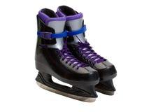 Chaussures de patin de glace Image stock