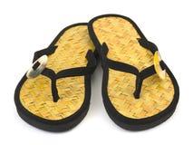 Chaussures de plage Image libre de droits