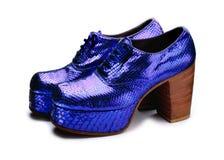 Chaussures de plate-forme Photographie stock libre de droits