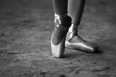 Chaussures de Pointe Photos stock