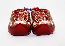 Chaussures de porcelaine sur un fond blanc Images stock