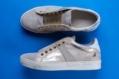 Chaussures de ressort du ` s de femmes Images libres de droits