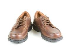 Chaussures de robe en cuir Photos stock