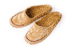 chaussures de Russe de filasse image libre de droits