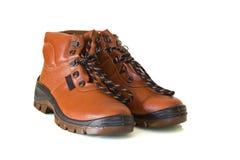 Chaussures de sécurité Photographie stock libre de droits