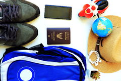Chaussures de sac Photos libres de droits