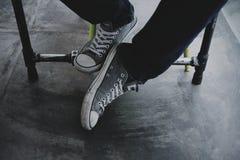 Chaussures de Sniker Image libre de droits