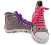 Chaussures de sport Photographie stock