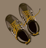 Chaussures de sport Photo stock