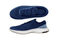 Chaussures de sport d'isolement sur le fond blanc Photos libres de droits