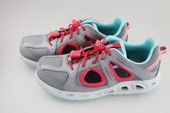 Chaussures de sport de l'été de la fille Photo libre de droits