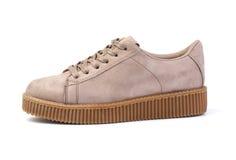 Chaussures de sport de style de femme photos stock