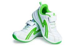 Chaussures de sport du `s de gosse. Images libres de droits