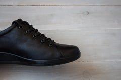 Chaussures de sport noires Images libres de droits