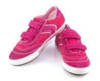 Chaussures de sport pour la femme Image libre de droits