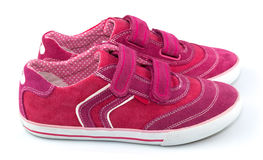 Chaussures de sport pour la femme Images stock