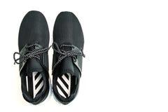 Chaussures de sport pour le fonctionnement Photographie stock