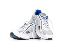 Chaussures de sport sur le blanc Image stock