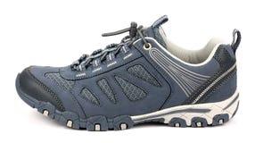 Chaussures de sport sur le fond blanc Images libres de droits