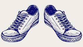 Chaussures de sports illustration libre de droits