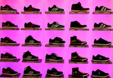 Chaussures de sports photo stock
