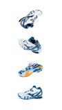 Chaussures de sports de différents angles Image stock