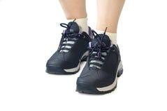 Chaussures de sports de femmes Photos libres de droits