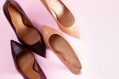 Chaussures de talon de taille image libre de droits