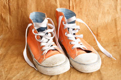 Chaussures de tennis Photos stock