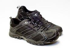 Chaussures de tennis noires Images libres de droits