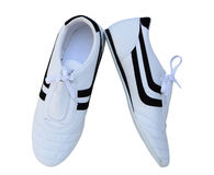 Chaussures de TKD Photo stock
