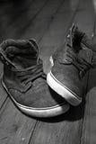 Chaussures de toile E Photo stock