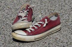 Chaussures de toile de vintage Images libres de droits