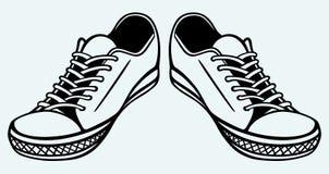 Chaussures de vintage illustration stock
