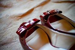 Chaussures de vintage Image libre de droits