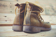 Chaussures de vintage Photographie stock libre de droits