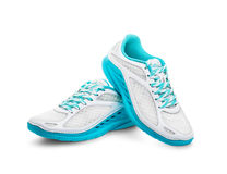 Chaussures des sports des femmes Photographie stock
