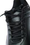 Chaussures des sports des hommes Espadrilles sur un fond blanc Photos libres de droits