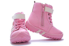 chaussures du gosse s Photos stock