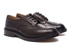 Chaussures du ` s d'hommes Photo libre de droits