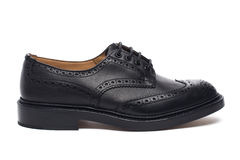 Chaussures du ` s d'hommes Photographie stock libre de droits